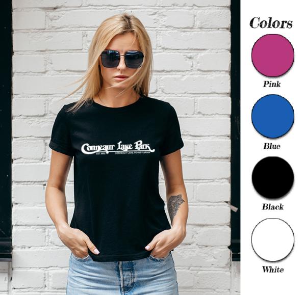 Women's Conneaut Lake Park T-Shirt with Colors