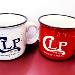 Conneaut Lake Park Coffee Cup Red and White