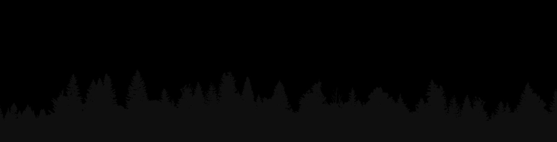 Black Silhouette Tree Line